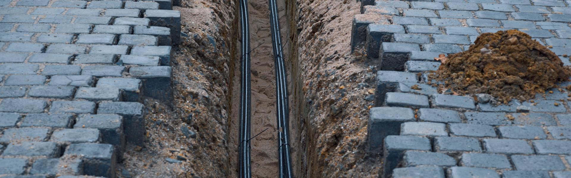 Kabelschakt & markanläggning
